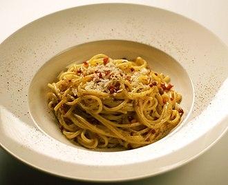 Carbonara - Spaghetti alla carbonara