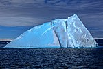 Spectacular Christmas morning cruise through the remants of giant Tabular iceberg B15Y, which is now grounded just off Bransfield Island at the N tip of the Antarctic Peninsula. (25367243054).jpg
