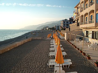 Fuscaldo Comune in Calabria, Italy