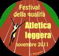Spilla per i partecipanti al festival della qualità dell'atletica leggera.png
