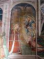 Spinello aretino, Caterina in prigione converte le dame e riceve la visita di Cristo 04.JPG