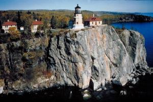 Split Rock Lighthouse on North Shore of Lake Superior