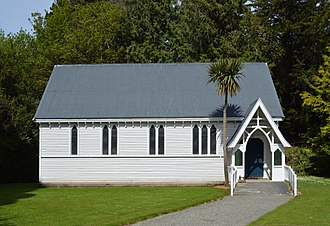 Springfield, New Zealand - Image: Springfield NZ Anglican Church 002