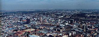 Springs, Gauteng - Downtown Springs Skyline