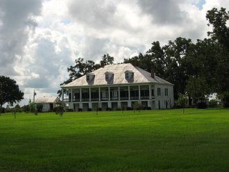 Vacherie, Louisiana - The St. Joseph Plantation house, built in 1840, is located in Vacherie