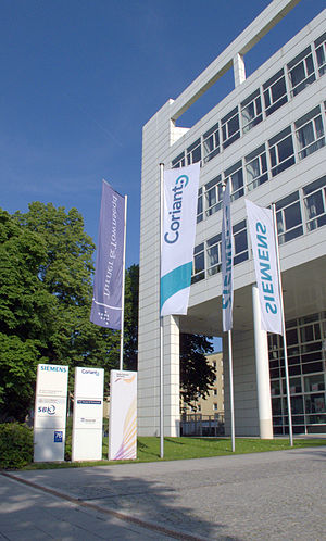 Coriant - Munich: Campus St. Martin St. - North Entrance