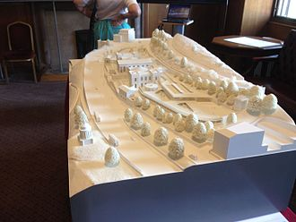 St Mary's Music School - Model in 2016 of proposed new building for school