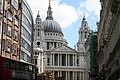 St. Paul's Cathedral, West Front, from Ludgate Hill - geograph.org.uk - 525122.jpg