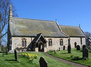 Scrayingham village in the United Kingdom