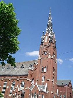 Saint Mary's Catholic Church (Dubuque, Iowa) - Wikipedia