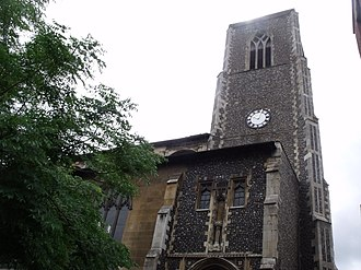 Grade I listed buildings in Norwich - Image: St Andrew's Church, St Andrews Street, Norwich