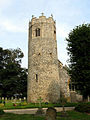 St Edmund, Taverham, Norfolk - Tower - geograph.org.uk - 319661.jpg