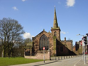Grade I listed buildings in Merseyside - Image: St Mary's Church, Prescot