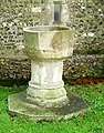 St Mary, Stansted, Kent - Redundant font - geograph.org.uk - 325650.jpg