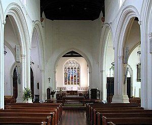 St Mary's Church, Ware - Interior