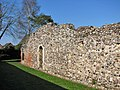 St Olave's Priory in St Olaves - west wall - geograph.org.uk - 1801659.jpg
