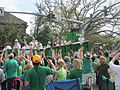 St Pats Parade Day Metairie 2012 Parade B3.JPG