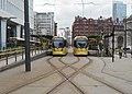 St Peter's Square tram stop, Feb 18 (3).jpg