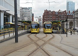 St Peter's Square tram stop, Feb 18 (3).jpg
