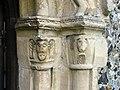 St Peter, Bekesbourne, Kent - Doorway detail - geograph.org.uk - 328955.jpg