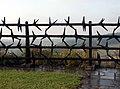 Stacheldraht-Mahnmal, Gedenkstätte KZ Mauthausen.JPG