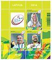 Stamp of Latvia 2016 Paralympians.jpg