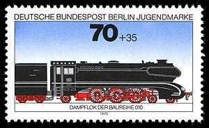 DB Class 10 - 1975 stamp