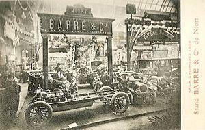 Barré (automobile) - Salon de l'automobile de Paris 1906