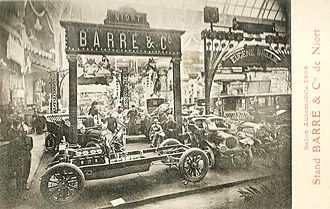 Barré (automobile) - Salon de l'automobile de Paris 1906