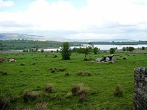 Lough Scur - Aghascur, Lough Scur at back.