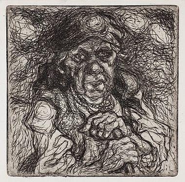 Stanisław Osostowicz - Stara wieśniaczka - Google Art Project.jpg