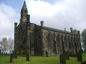 Christ Church, Stannington - Image: Stannington Church