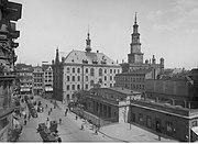 Stary Rynek w Poznaniu 1934
