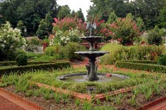 The State Botanical Garden of Georgia - Formal garden at the State Botanical Garden of Georgia