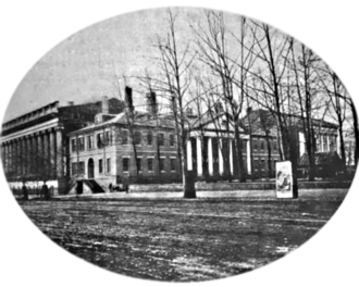 Old State Department building in Washington, D.C., c. 1865 State Department Building, Washington, D. C., 1865.png