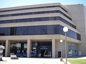 State Library of Western Australia - State Library of Western Australia, Alexander Library Building