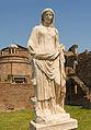 Statue Maison des Vestales Forum Romanum Rome.jpg