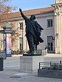 Statue de Désiré Bancel, Valence - janvier 2021.jpg