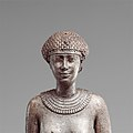 Statuette of a Royal (?) Woman with the Cartouches of Necho II on her Arms MET DP139131.jpg