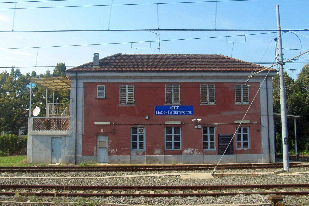 settimo torinese railway station wikipedia