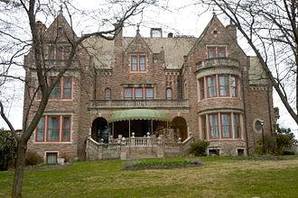 """Theophilus P. Chandler Jr. - """"Stirling"""" (James Hervey Sternbergh mansion), Reading, Pennsylvania (1890–92)"""