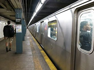 Sterling Street (IRT Nostrand Avenue Line) - Platform level