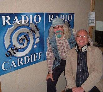 Steve Andrews - Image: Steve Andrews at Radio Cardiff