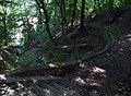 Stezka dolní Sedlec - horní Sedlec, křížení rokle (01).jpg