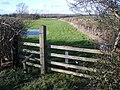 Stile and Footpath at Elton - geograph.org.uk - 321330.jpg