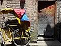 Still Life with Ricksha and Gate - Old City - Srinagar - Jammu & Kashmir - India (26564837610).jpg