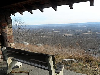 Frankford Township, New Jersey - View from Stokes State Forest