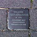 Stolperstein Barsinghausen Harry Abrahamson.jpg