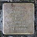 Stolperstein Bredowstr 14 (Moabi) Ridia Lewy.jpg