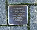 Stolperstein Fritz Felsenthal - Aachen.JPG
